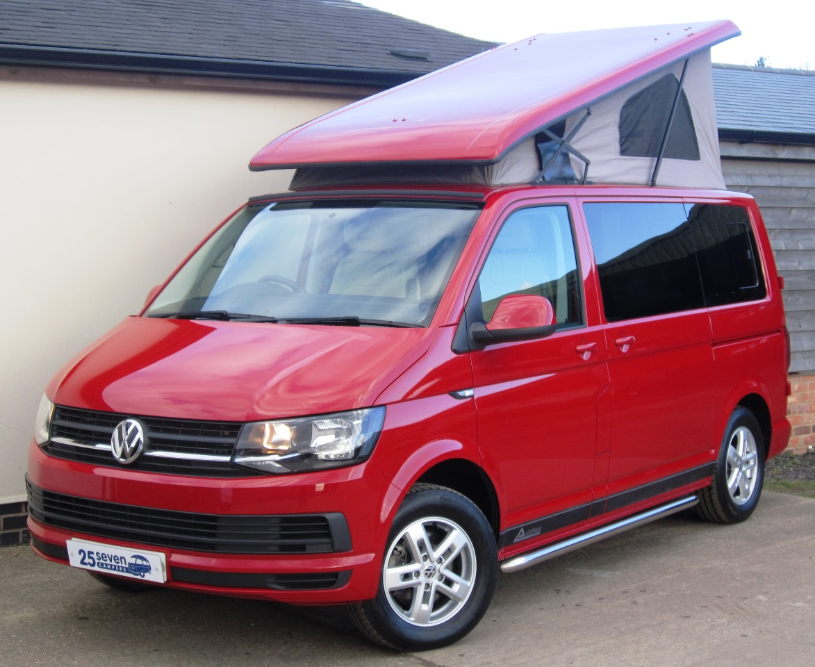 t6 autohaus camelot vw camper for sale 25seven campers ltd. Black Bedroom Furniture Sets. Home Design Ideas