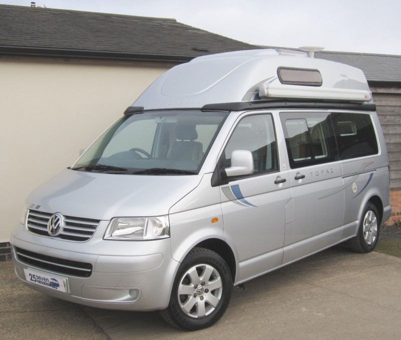 Vw T5 Autosleeper Topaz Camper For Sale 25seven Campers Ltd